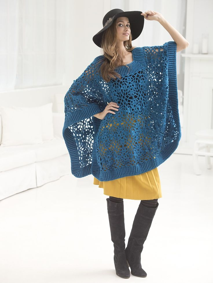 874 best Crochet - Shawls, shrugs and scarves images on ...
