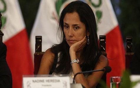Primera dama de Perú niega imputación por lavado