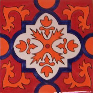 Mexican Talavera tile: alambra