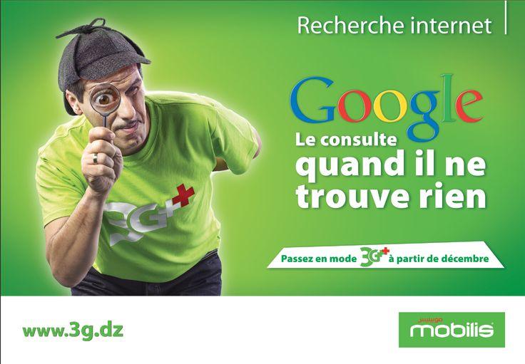 Campagne lancement #3G en #Algérie avec Kamel Bouakkaz