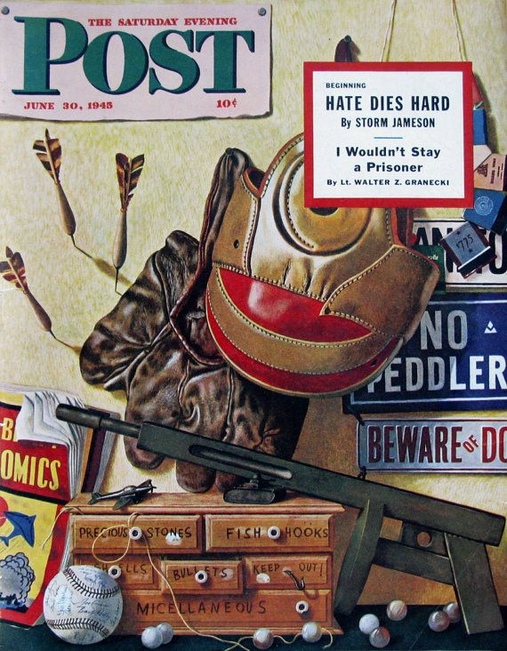 Toys For Boys Magazine : Best s saturday evening post magazine covers