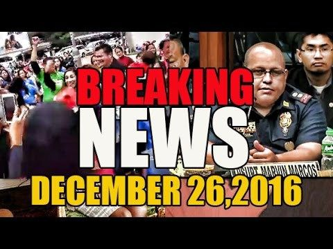 Philippine News Today December 26,2016:  Duterte,Delima, Leni Robredo, Jack lam Drug War - WATCH VIDEO HERE -> http://dutertenewstoday.com/philippine-news-today-december-262016-dutertedelima-leni-robredo-jack-lam-drug-war/   Watch the latest Related Videos HERE: LIKE, SHARE, REACT and Post your COMMENT Dont Forget to Subscribe: Like Us On...
