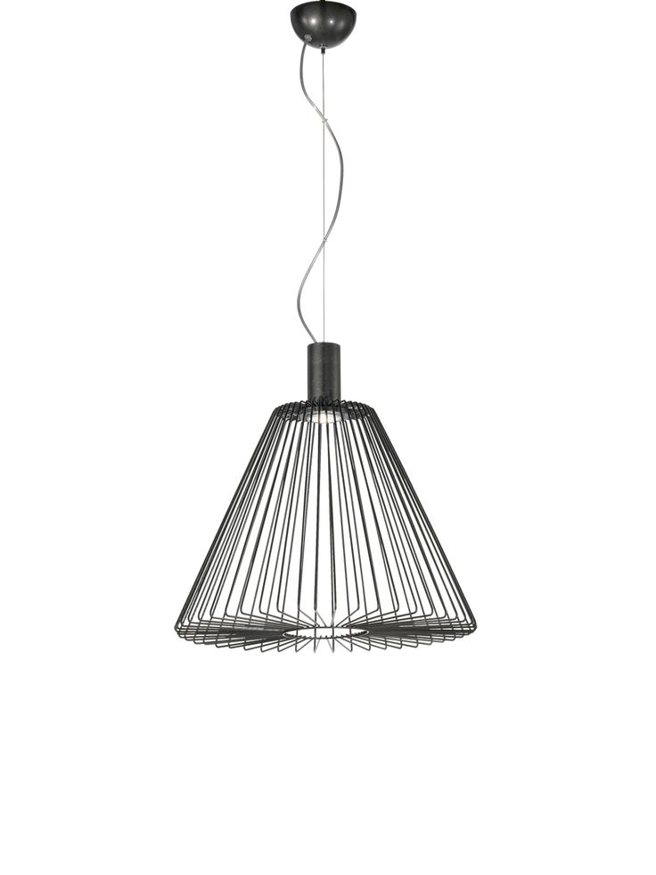 Description: Metal cage lighting, Minimalist style Material:Metal Dimensions:430mm dia. x 430mm high, Lamp:1 x GU10 max 50W Brand: MM Lampadari