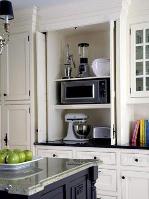 Appliance storage  (A Bit of Bees Knees: Dream Kitchens)