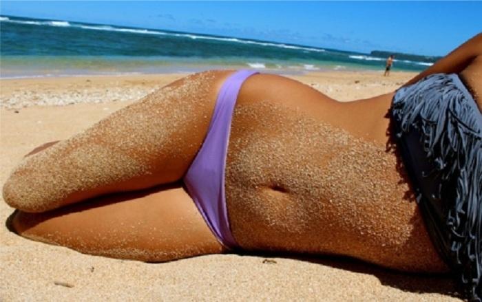 LOVE fringe bathing suits!