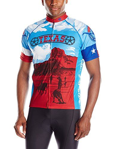 Canari Mens Texas Retro Jersey Multicolor Large ** You can find out more details at the link of the image. (Note:Amazon affiliate link)