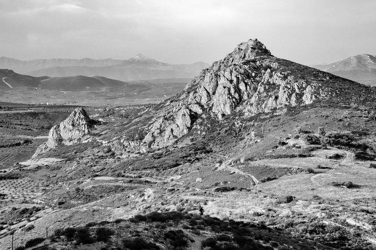 Penteskoufi Hill (Black and White Landscape) - Jackobo's Photoblog