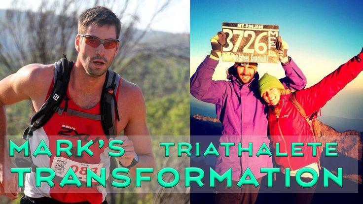 Mark Mcdowell's Transformation - Triathlete training