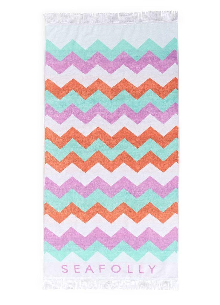Ziggy towel - White $59.95