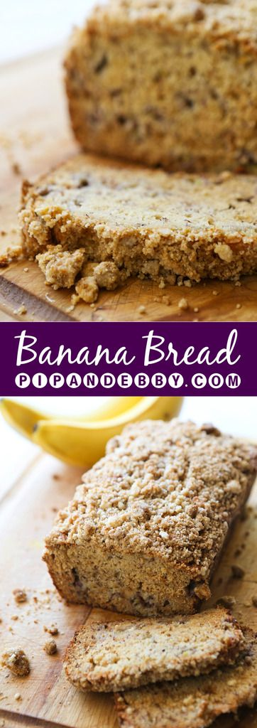Banana Bread   This bread is a staple in our house! Super moist and totally irresistible.