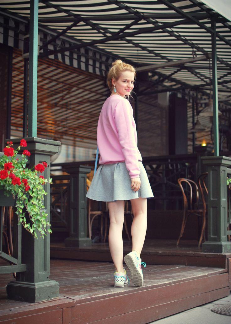 Neoprene skirt- Costa de la Moda