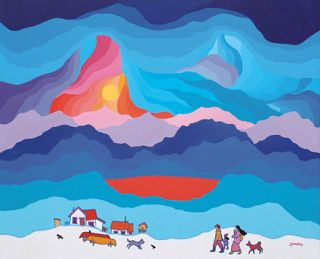 Ted Harrison Paintings