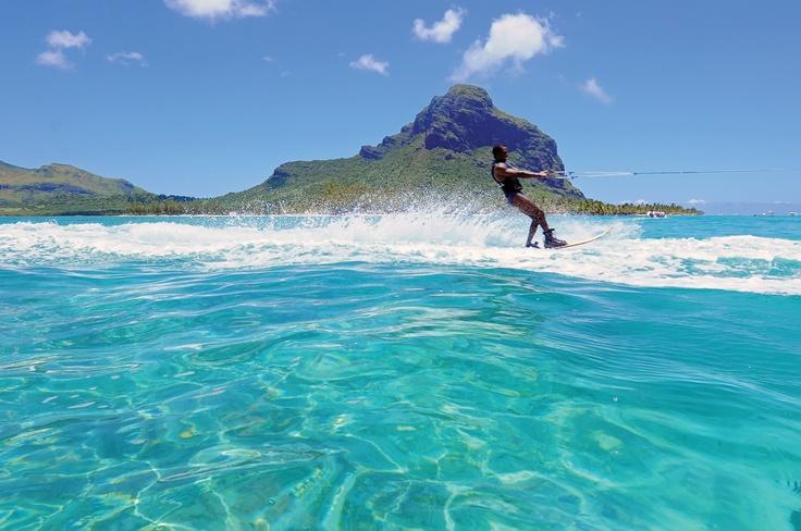 Waterski | Mauritius | Amazing World | Pinterest ...