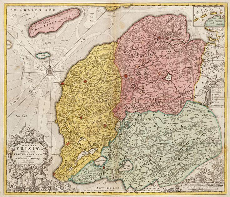 Frisiae 1704 Nicolaas Visscher