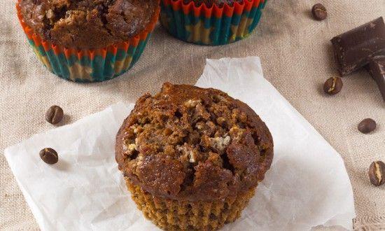 Koffie banaan chocolade ontbijt muffin ⋆ Es' Factory