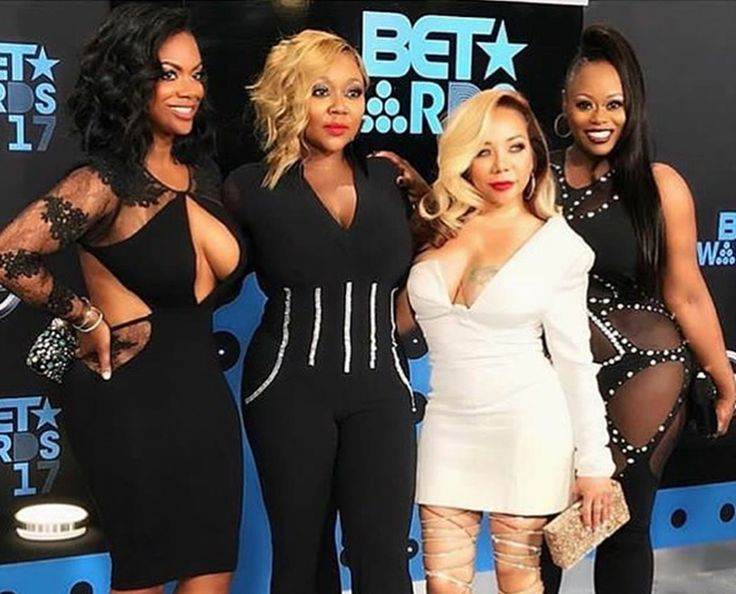 Tameka 'Tiny' Harris And Kandi Burruss With The Scott Sisters Please Xscape Fans With Great Performance At BET Awards #BetAwards, #KandiBurruss, #TamekaCottle, #Tiny celebrityinsider.org #Awards #celebrityinsider #celebrities #celebrity #celebritynews