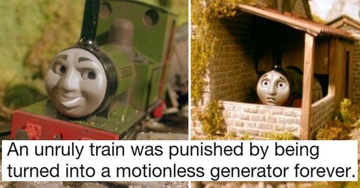 5 Creepy Thomas the Train Episodes Darker Than Any Horror Movie #collegehumor #lol