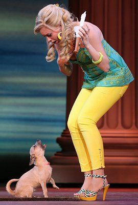 Legally Blonde the Musical Costumes   Legally Blonde the Musical at Seattle 5th Avenue Theatre - Photo: Joan ...