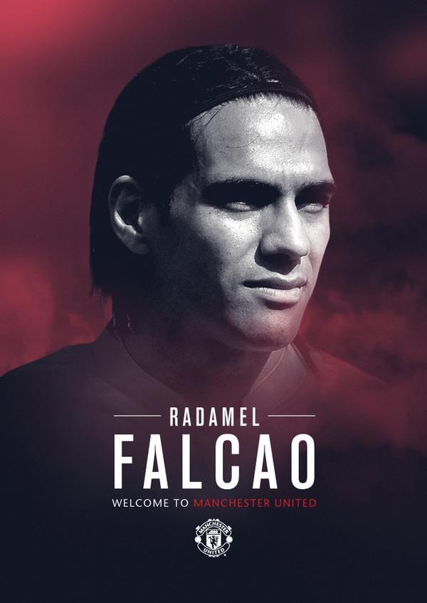 Welcome to #mufc, Radamel Falcao!
