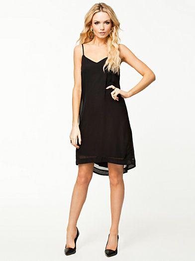Sally Pu Dress - Vero Moda - Black - Dresses - Clothing - Women - Nelly.com