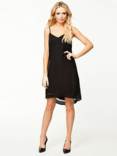 Sally Pu Dress - Vero Moda - Black - Dresses - Clothing - Women - Nelly.com