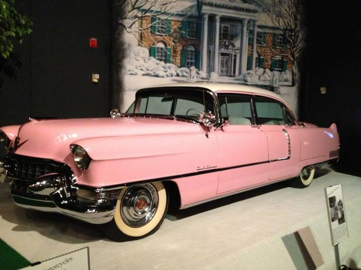 1955 Pink Cadillac Owned By Elvis Presley One Of The Most