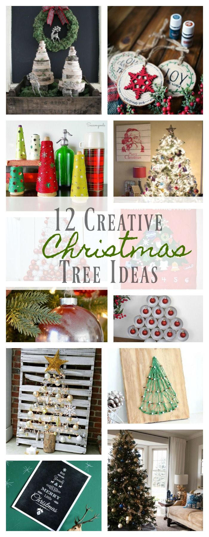 12 Creative Christmas Tree Ideas