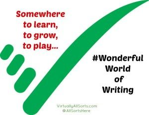 Somewhere to learn, to grow, to play ~ poem #WonderfulWorldofWriting