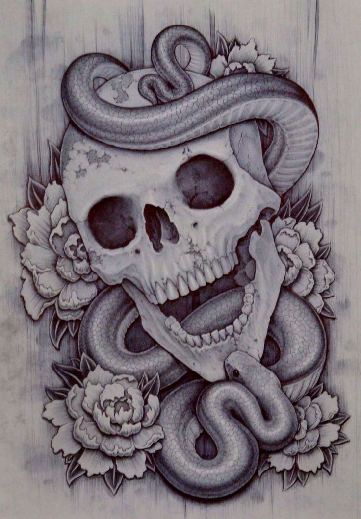 drawings of skulls with smoke - Google Search