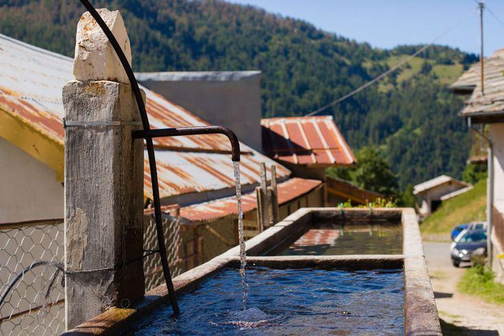 Prali Italy Samantha De Reviziis water fountain ferruginous
