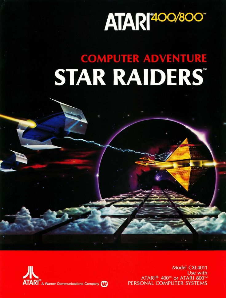 Star Raiders for the Atari 400/800 systems.