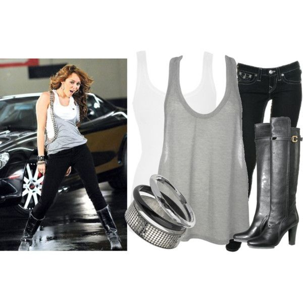 Miley Cyrus- Fly on The Wall Outfit