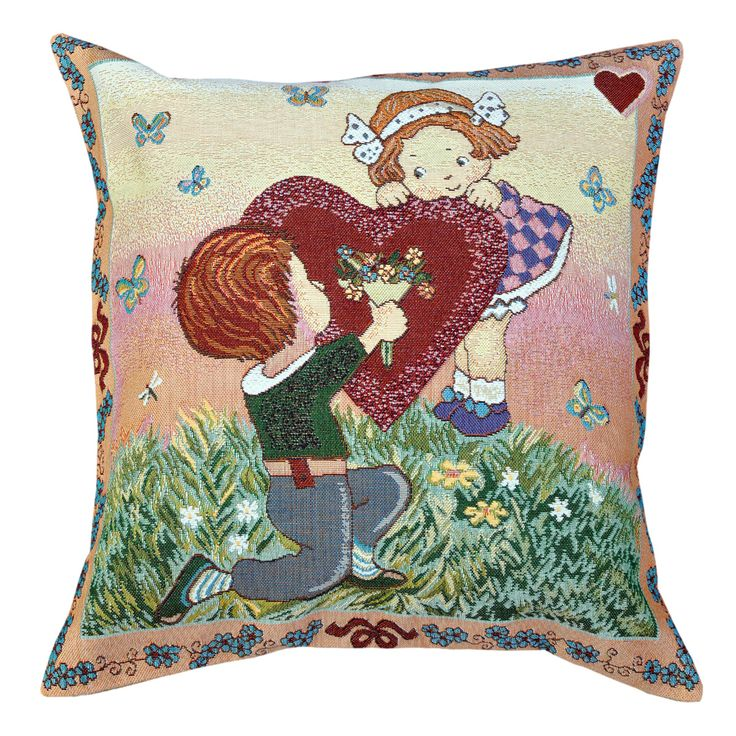 I Love You Tapestry Cushion 50x50cm