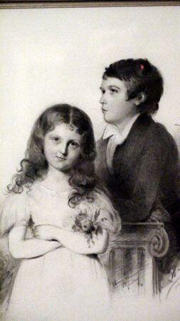 J-F Maurice et Solange enfants de:GS écrivain,Amantine Aurore Dupin Dudevant
