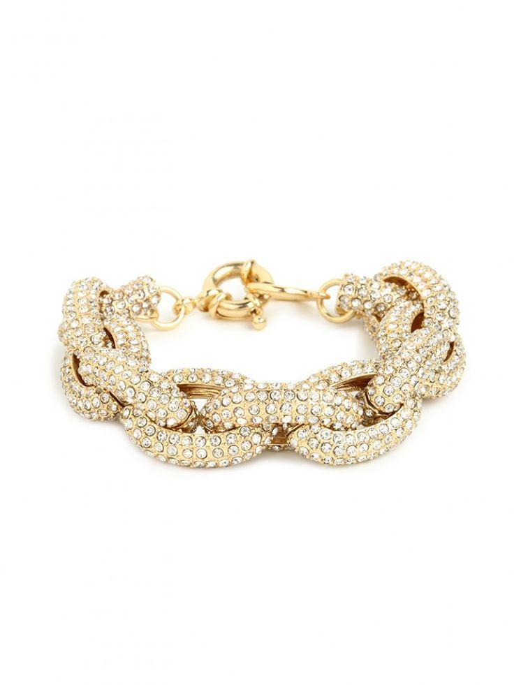 pave links bracelet / baublebar
