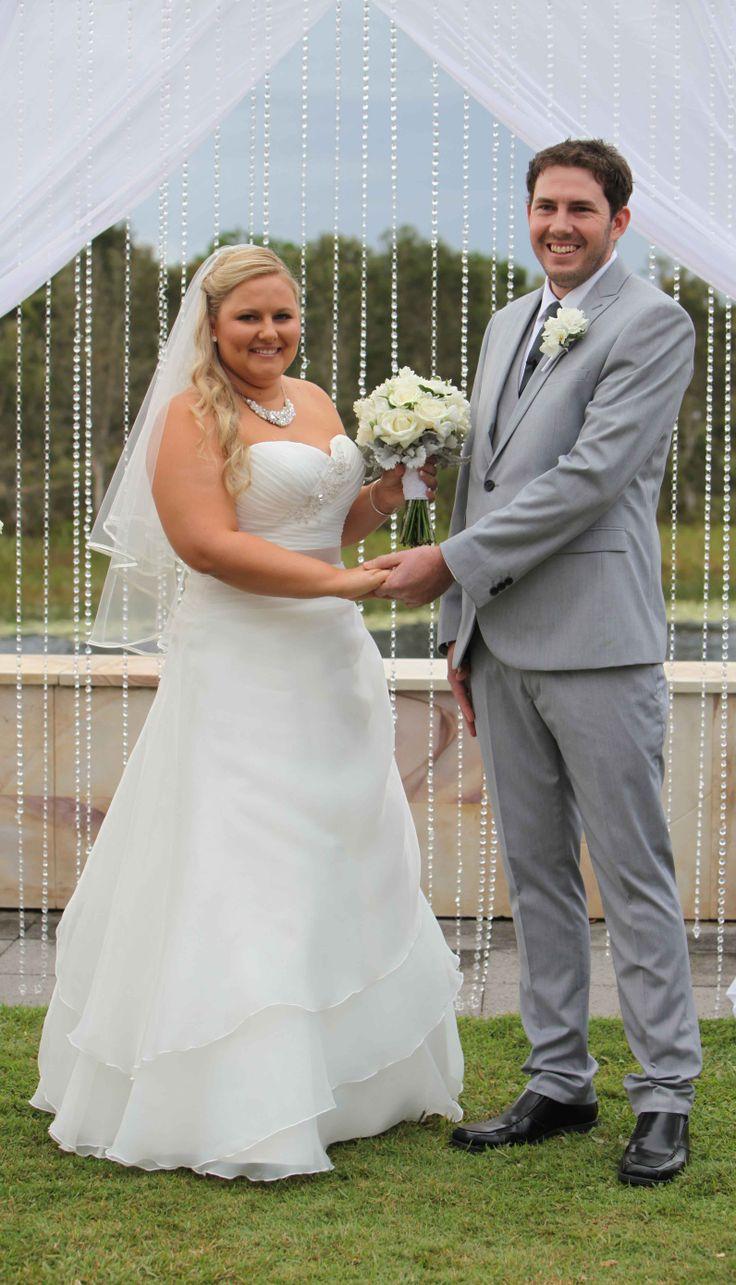 Danielle & Dean's Wedding, Pelican Waters Golf Club!