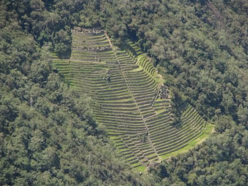 The Inca civilization was predominantly an agricultural society. They used terrace farming as a way to farm on the mountain without having to farm a steep slope. They celebrated farming with rituals and songs. Some of their staple crops where quinoa, potatoes, and corn.