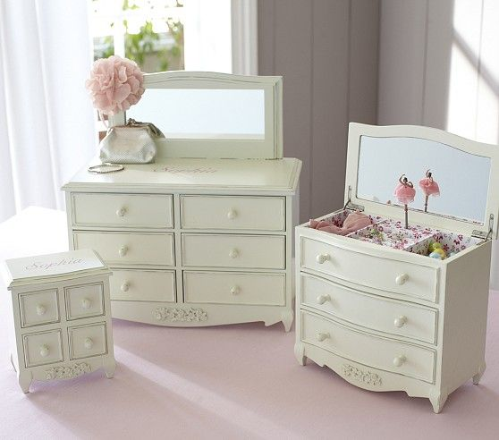 Decorative Boxes Pottery Barn : Madeline jewelry box collection pottery barn kids