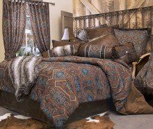 Southwestern Turquoise - Saguaro Desert - 5 Piece Queen Comforter Bedding Set - (1 Comforter, 2 Pillow Shams, 1 Bedskirt, 1 Neckroll Pillow) SAVE BIG ON BUNDLING! Carstens Inc. http://www.amazon.com/dp/B00SK9NQHM/ref=cm_sw_r_pi_dp_T5eWub0N2A10K