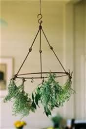 French iron herb dryer from heaven in earth