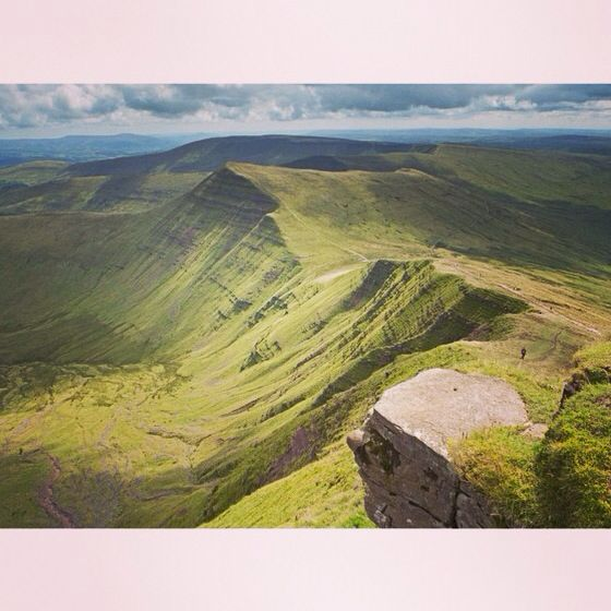 The Brecon Beacons National Park offers some of the area's most impressive scenery. Rising 886 metres above sea-level, Pen y Fan is the highest point in southern Britain. Brecon has also been shortlisted for the top 10 special places in Wales. Vote online by Sunday 3 August, or in person at ballot boxes at the shortlisted locations by Thursday 31 July. You can also vote via Twitter using #lleoeddarbennig /#specialplaces, or on Facebook.