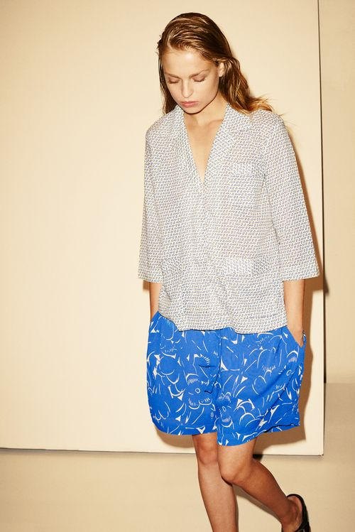 Natasha Tulip Voile Jacket 184.6153.430 & Andrea French Fleur 452.6158.431.