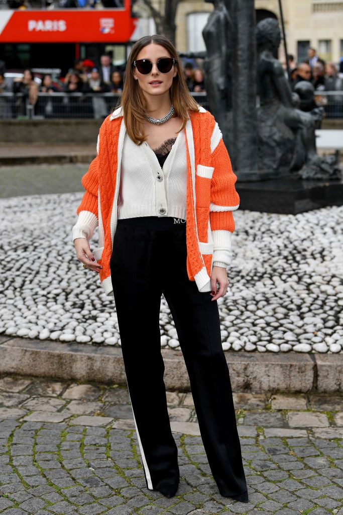 fe542f2b238b Olivia Palermo attends the Miu Miu show as part of the Paris Fashion ...