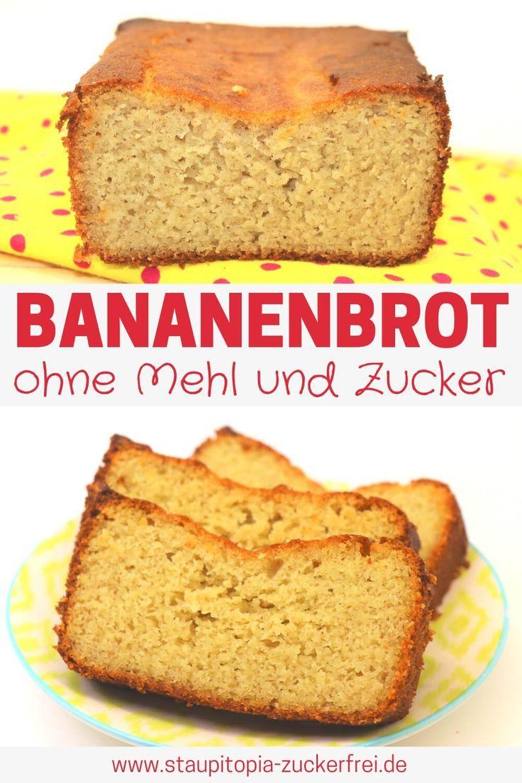 Bananenbrot Ohne Zucker Rezept Bananenbrot Bananenbrot Ohne Zucker Bananen Brot