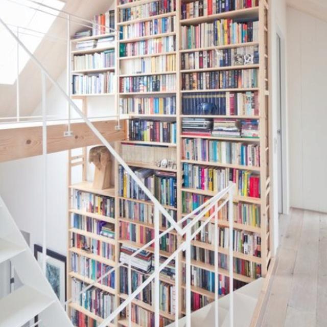 Lundia Solid Wood Bookshelves