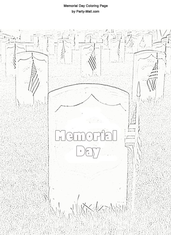 memorial day coloring pages memorial day coloring page