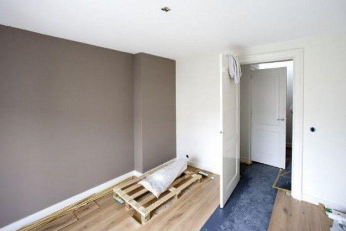 Picture idea 38 : Woonkamer muren ideeen verf niet de hele muur maar ...
