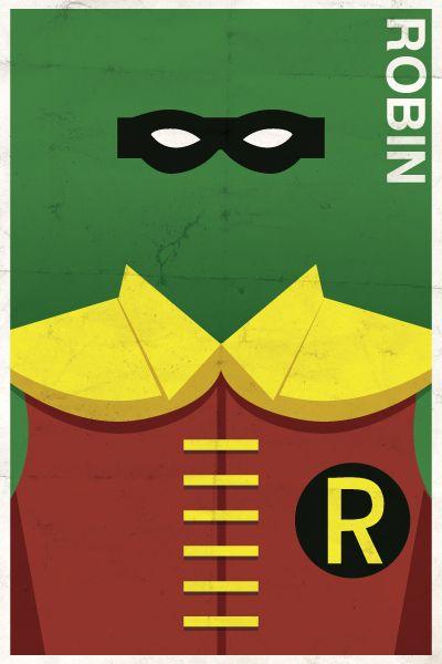Estes Cartazes vintage da Dc foram criados pelo ilustrador Michael Myers com um projeto pessoal. com um tom minimalista e bem ao conceito dos personagens.   Gos