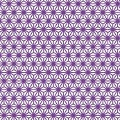 Asanoha-mon (purple)  #printables