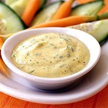 Curry-Joghurt-Dip